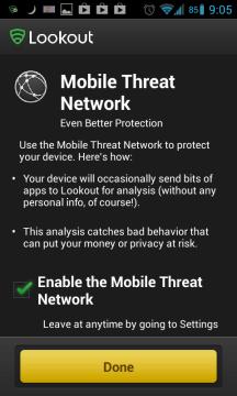 Nabídka na zapojení do Mobile Threat Network