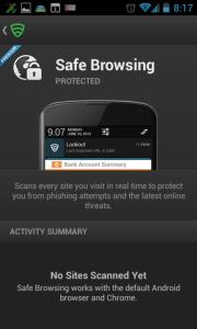 Funkce bezpečného surfování po Internetu