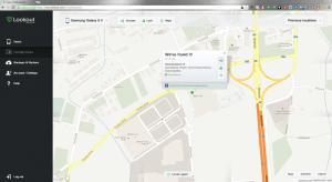 Zobrazení polohy telefonu v mapě