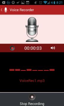 Diktafon je velice jednoduchý