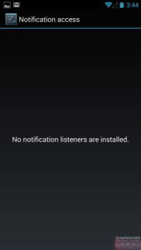 Seznam aplikací s přístupem k notifikacím