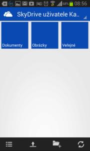 SkyDrive: správa souborů v cloudu