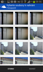 SkyDrive: galerie obrázků