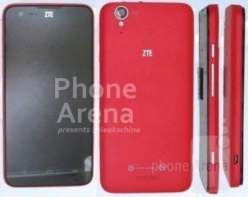 Takto by měl vypadat model ZTE U988S s Tegrou 4