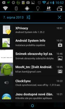 Po instalaci nového programu se XPrivacy zeptá, k jakým datům udělíte aplikaci přístup