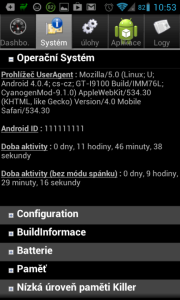 Android System Info: podvržené Android ID