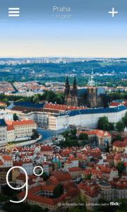 Yahoo! Počasí: jak je v Praze