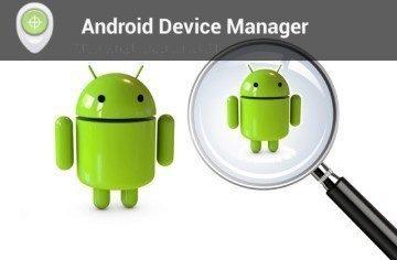 Android Device Manager najde váš telefon