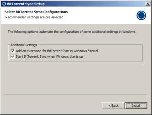Nastavení firewallu a automatického spouštění