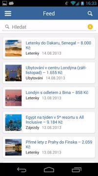 Cestujlevne - Aplikace pro Android ve službě Google Play (1)