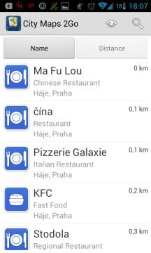 Na pražském Jižním městě aplikace zná všechny podniky