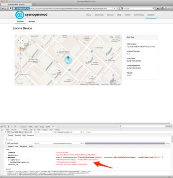 CyanogenMod umožní sledování zařízení