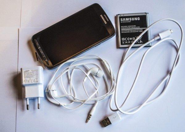 Galaxy S4 Active obsah baleni