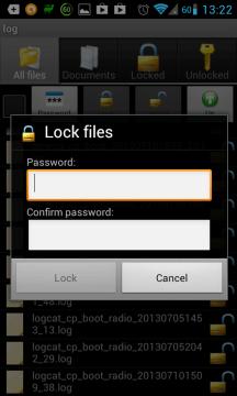 File Locker: zašifrování souboru