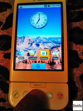 První údajné fotografie HTC Dream