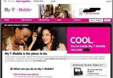 Obrázek se objevil na webu T-Mobile
