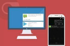 Zobrazení notifikací z Androidu na počítači: Krome