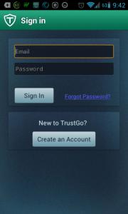 Přihlášení k účtu