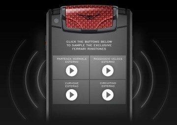 Melodie jsou založeny na zvuku motoru Ferrari F12