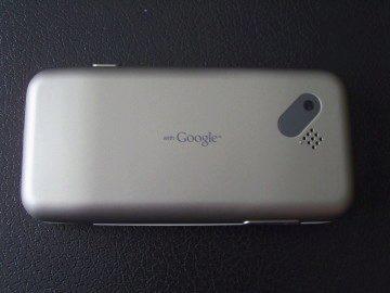 Zadní strana T-Mobile G1