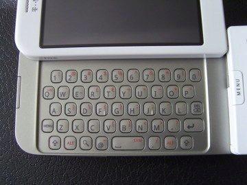 Klávesnice T-Mobile G1
