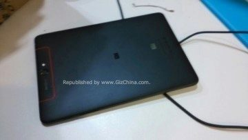 Zadní strana tabletu Xiaomi Zimi (Purple Rice)