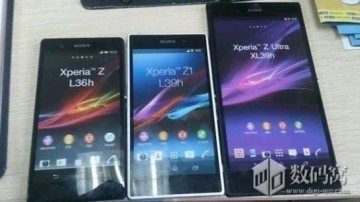 Sony Xperia Z1 spolu s Xperií Z a Xperií Z Ultra