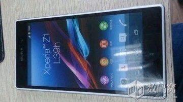 Detailnější pohled na Sony Xperii Z1