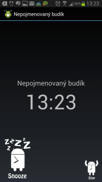 AlarmDroid: buzení