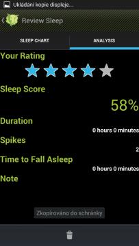 ElectricSleep: analýza spánku
