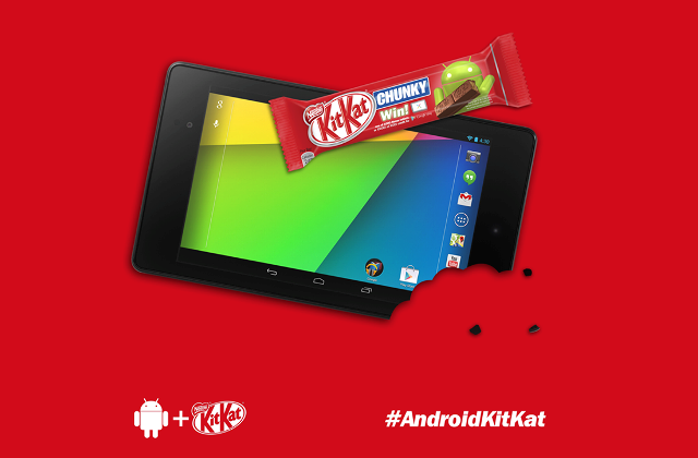 Android KitKat Nestle Germany