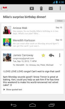 Uživatelské rozhraní přinese osvědčené karty ve stylu Google Now