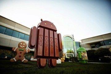 Android 4.4 má již sochu u Googleplexu
