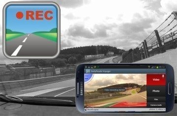 DailyRoads Voyager: Android jako kamera do auta