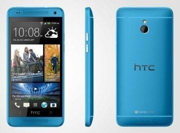 HTC One Mini v modré barvě