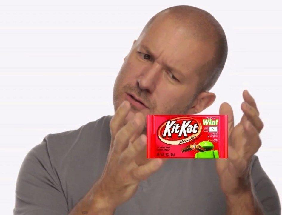 Jony Ive KitKat