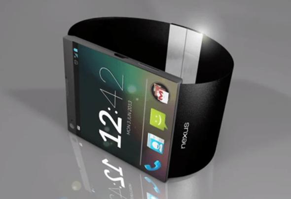 Nějak takto by si fanoušci hodinky od Googlu představovali