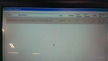 Údajný snímek ze skladového systému britského PC Worldu