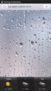 Aplikace Weather