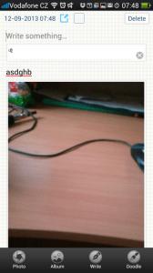 Notes: aplikace na poznámky