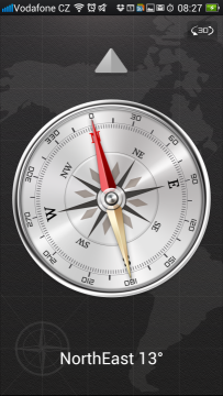 Aplikace Compass