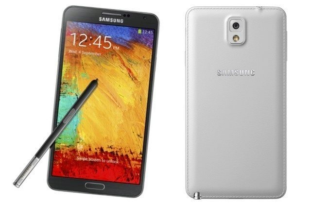 Samsung GALAXY Note 3 black white