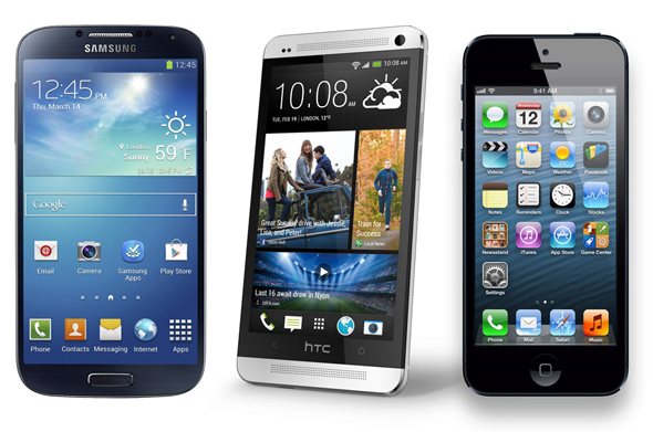 samsung vs htc vs apple