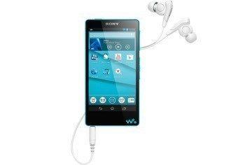 Sony NW-F880 Walkman v modré barvě