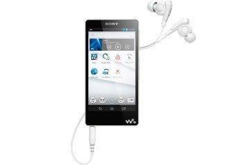 Sony NW-F880 Walkman v bílé barvě