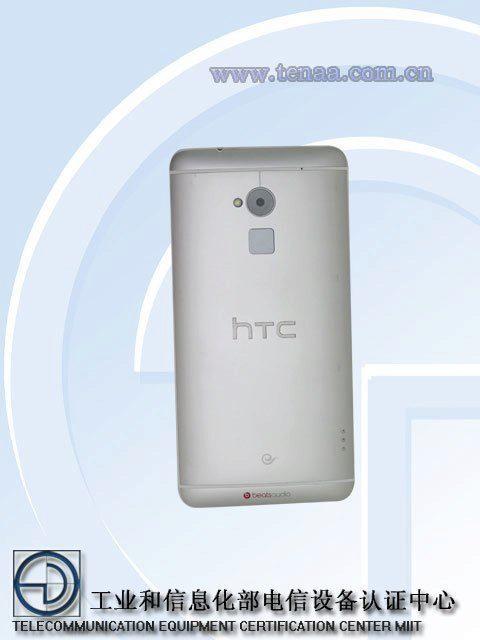 HTC One Max - zadní strana