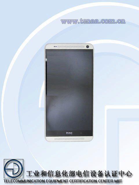 HTC One Max - přední strana