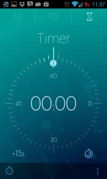Timely Alarm Clock: časovač neboli minutka