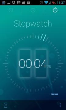 Timely Alarm Clock: stopky
