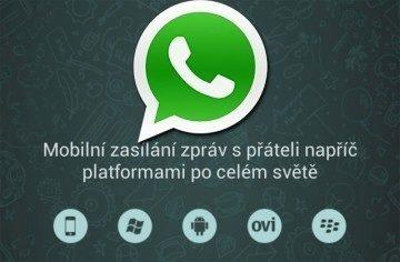 WhatsApp Messenger: posílejte textové i multimediální zprávy zadarmo!